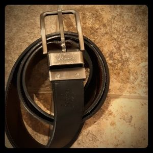 Kenneth Cole Men's Leather Reversible Belt 40